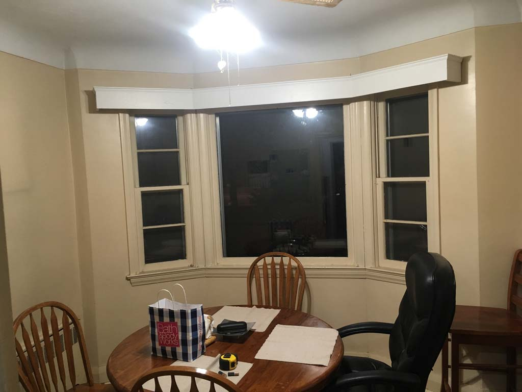Dinning Room windows before remodel