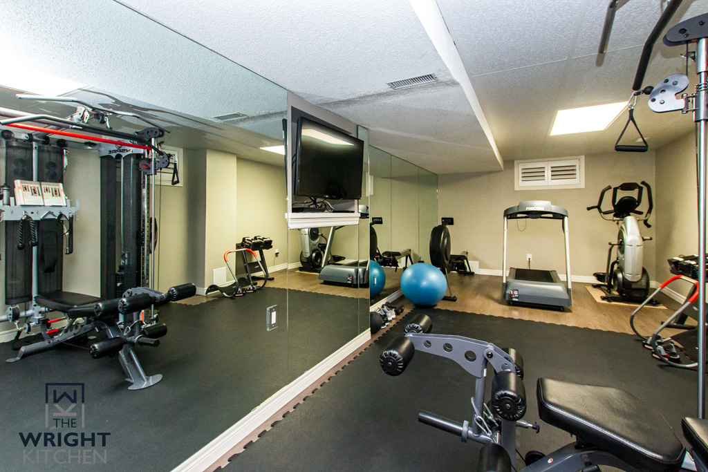 Gym basement