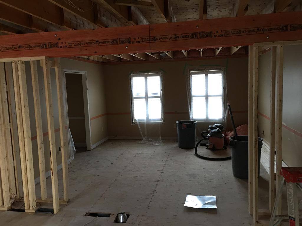 Under Construction Open Concept Kitchen 18