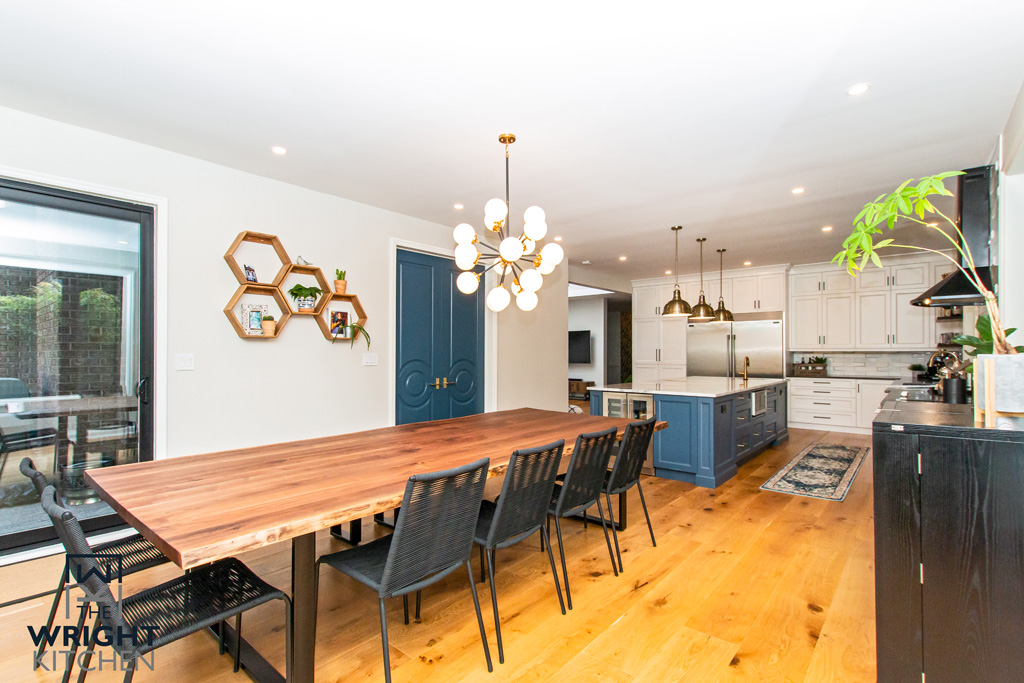 Wood Dinning room & kitchen 2019