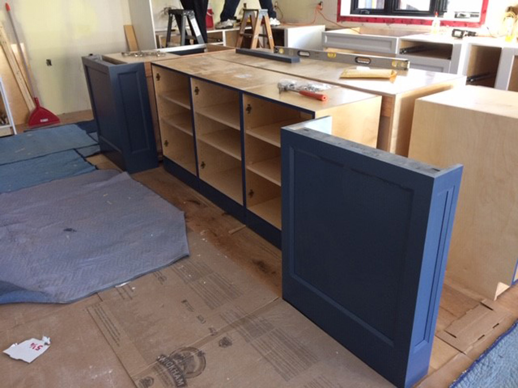 Kitchen Island Construction 2019